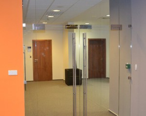 Sklenené otváravé dvere - 2