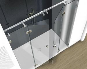 Sklenené sprchové boxy - 29