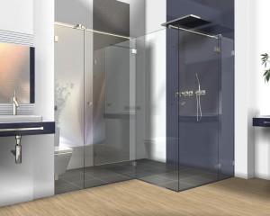 Sklenené sprchové boxy - 34