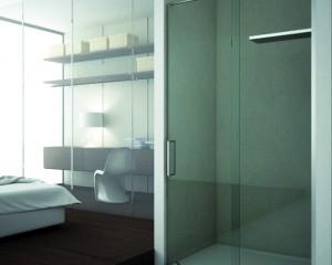 Sklenené sprchové boxy - 41