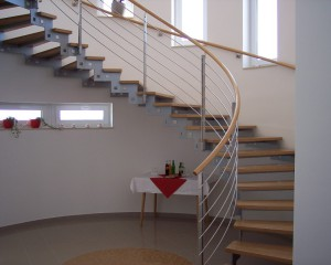 Sklenené schodiská - 25
