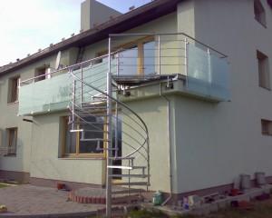 Sklenené schodiská - 35