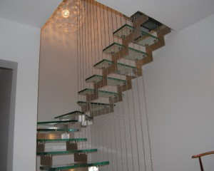 Sklenené schodiská - 9