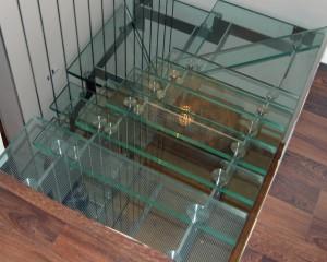 Sklenené schodiská - 1