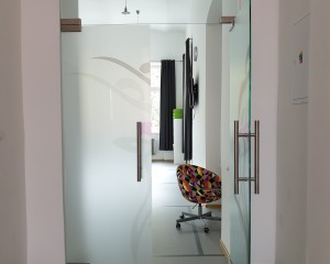 Sklenené otváravé dvere - 17
