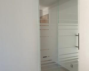 Sklenené posuvné dvere - 54